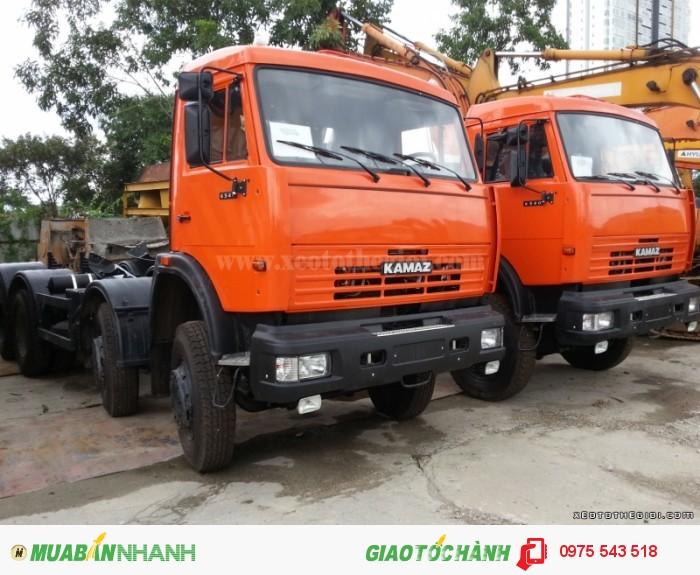 Xe tải Kamaz 6540 (8x4) 20 tấn 2 cầu 2