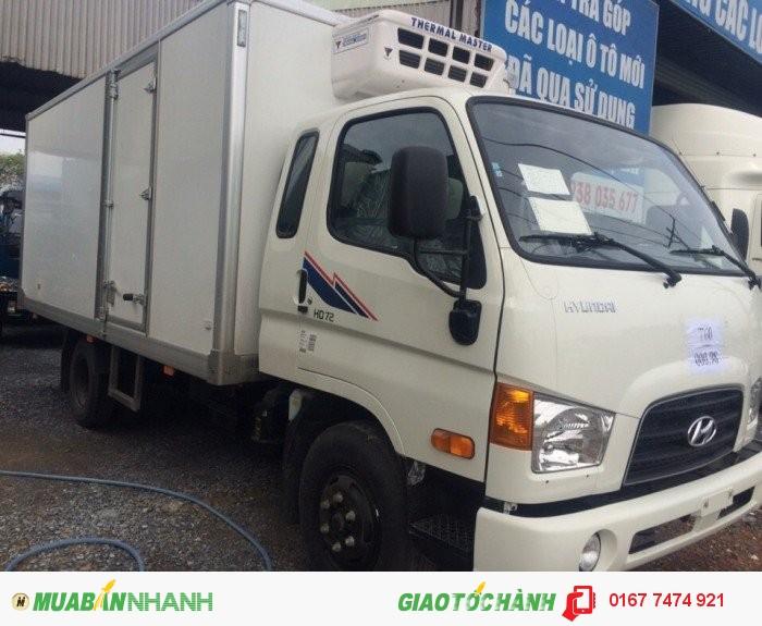Hyundai HD72 sản xuất năm 2016 Số tay (số sàn) Xe tải động cơ Dầu diesel