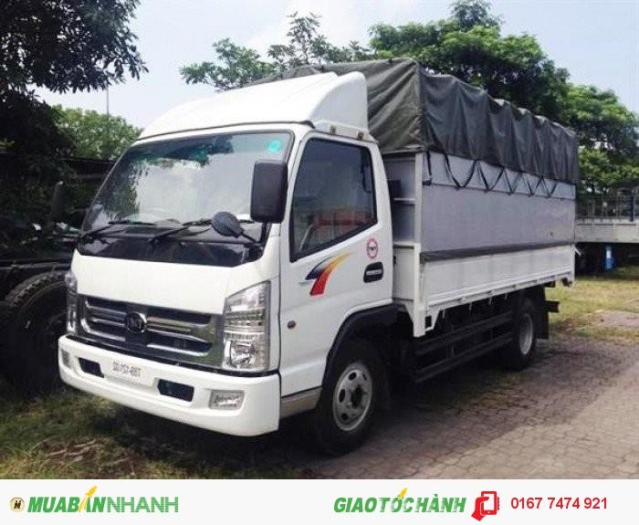 Xe tmt km7560t 6t, động cơ Isuzu tiết kiệm nhiên liệu hàng đầu!