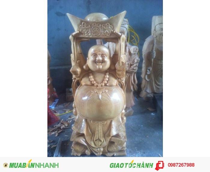 Tượng Phật Dâng tiền gỗ Pơ MU0