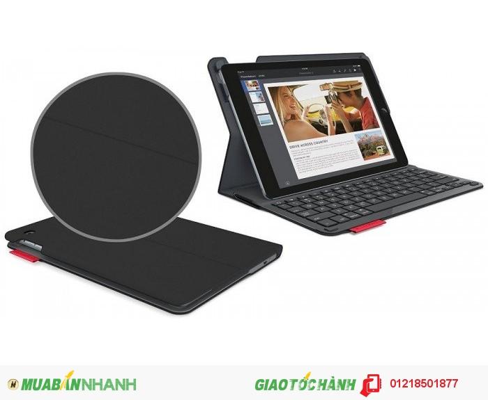 Bao da kèm bàn phím dành cho iPad Air Logitech Ultrathin Keyboard Folio, Midnight Navy  Giá b...