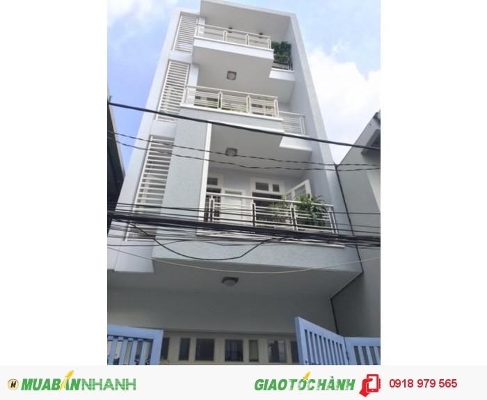 Bán nhà trệt 4 lầu sân thượng mặt tiền đường số chợ Tân Mỹ phường Tân Phú Quận 7.