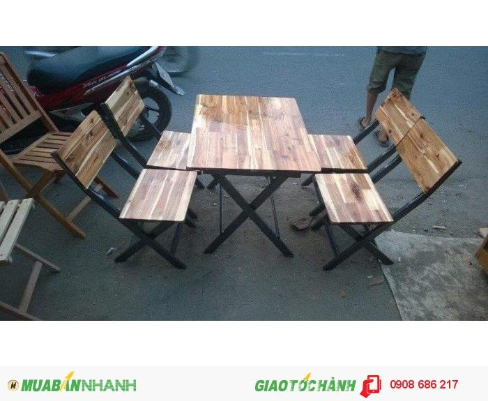Bàn  ghế  gỗ dành  cho quán  nhâu  quán càfe giá  rẻ4