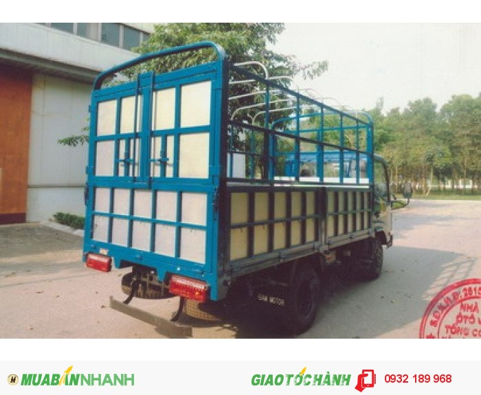 Xe tải veam vt252 2.4t thùng mui bạt dài 4m1