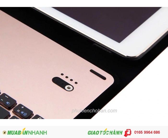 Bàn phím bluetooth bao da giá đỡ iPad Pro 9.7