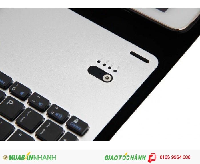 Bàn phím bluetooth bao da dành cho iPad Pro 9.7-kem