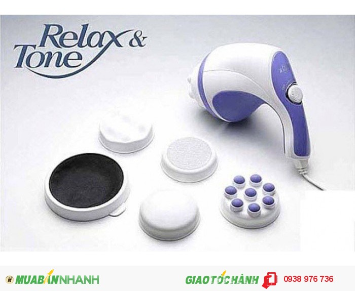 Máy Massage Cầm Tay Tan Mỡ Bụng Relax And Spin