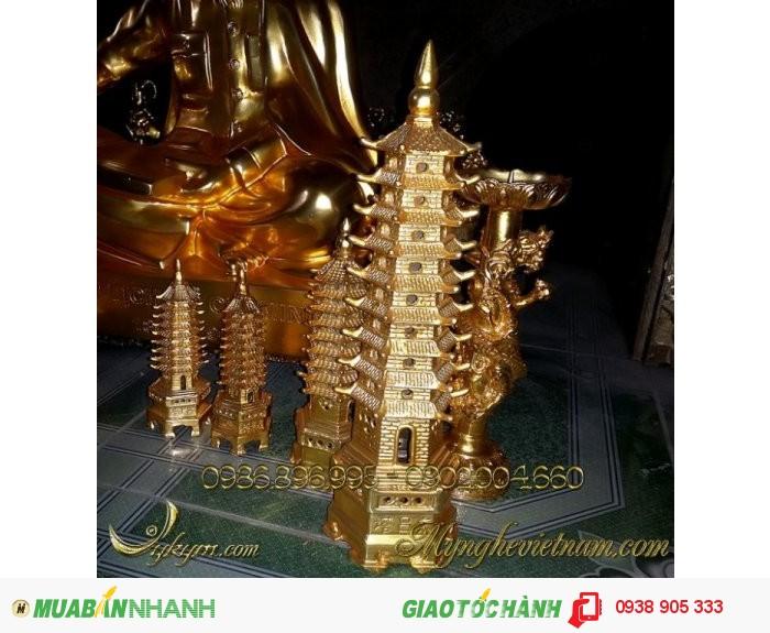 Các loại tháp văn xương bằng đồng phong thủy.1