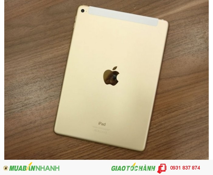 iPad air 2 gold 16g wifi 3g like new zin all 100%