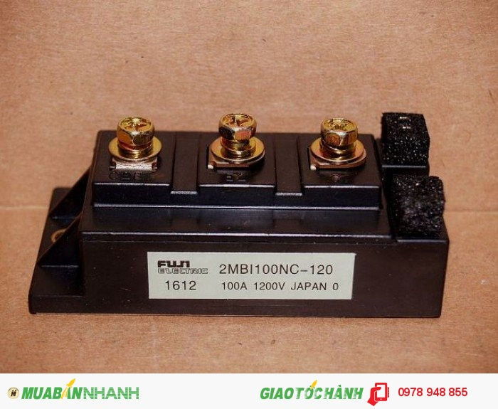 FUJI IGBT 2MBI100NC-120, 1