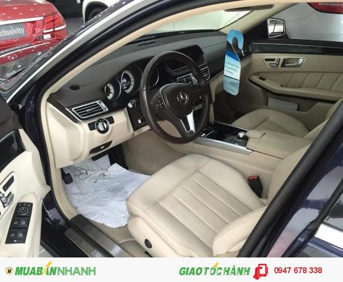 Bán Mercedes E250 2014 màu xanh chính chủ giá cực tốt