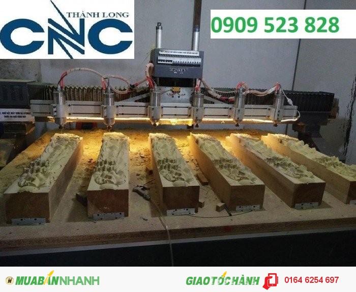 Máy đục vi tính nhiều đầu hiệu Singkey tại CNC Thành Long, 2