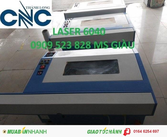 Máy Laser 6090 cắt khắc trên mọi vật liệu phi kim