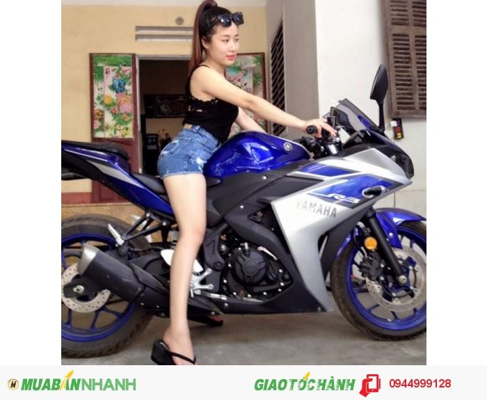 Bán xe máy Yamaha phân phối lớn r3 nhập khẩu nguyên chiếc