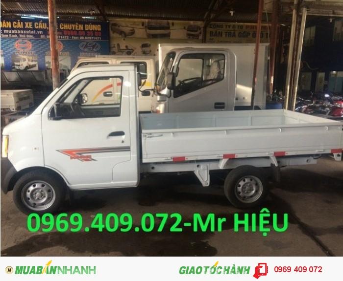 Xe tải Dongben 870kg DB1021 thùng lửng ,bạt ,mui , trả góp rẻ nhất MIỀN NAM