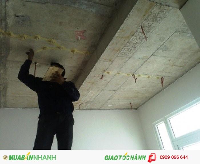 Nhận xử lý nứt bê tông tầng hầm, đường hầm, sàn bê tông giá rẻ chất lượng uy tín