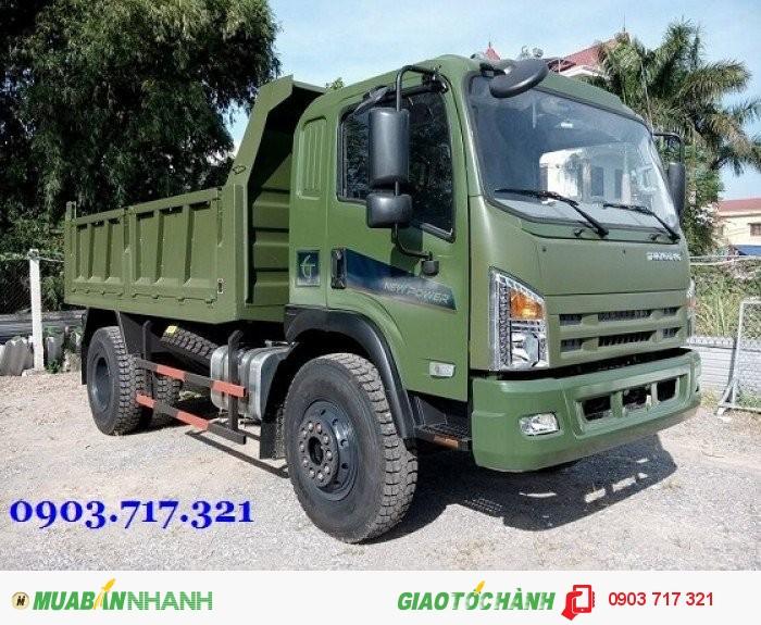 Bán trả góp xe ben DongFeng 9.2 tấn / Xe ben DongFeng 9T2 / DongFeng Trường Giang 9t2 – 9200kg – 9,2 1