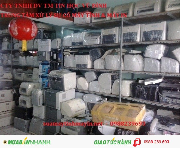 Sửa chữa, Nạp mực máy in chất lượng, có bảo hành HCM
