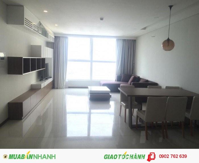 Cho thuê gấp CH Thảo Điền Pearl,dt 105m2,2PN,view đẹp,full nội thất, giá 22 triệu/tháng