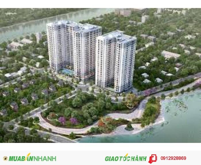 Chủ đầu tư Thảo Điền bán căn hộ M-One 2pn, giá 1.28 tỷ+ TIVI+ vàng, view sông đẹp