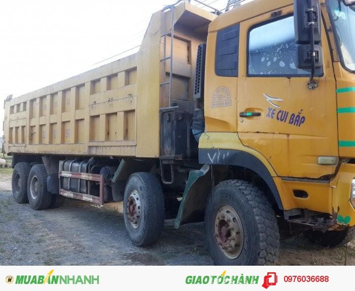 Cần bán gấp xe 4 chân dongfeng doi 2010 thùng cao