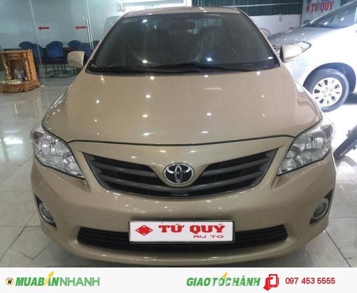 Toyota Corolla sản xuất năm 2010 Số tự động Động cơ Xăng