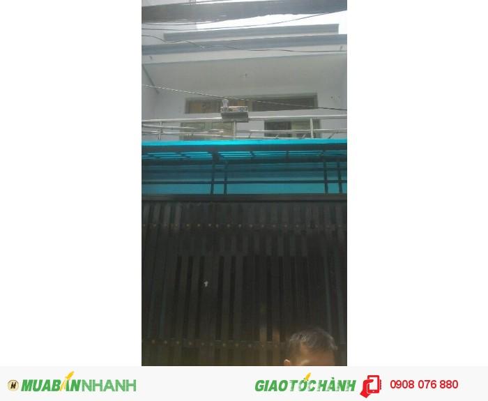 Bán nhà quận 7, DT 4x17m, 1 trệt 1 lầu, hẻm Huỳnh Tấn Phát, phường Tân Phú, giá 1.7 tỷ