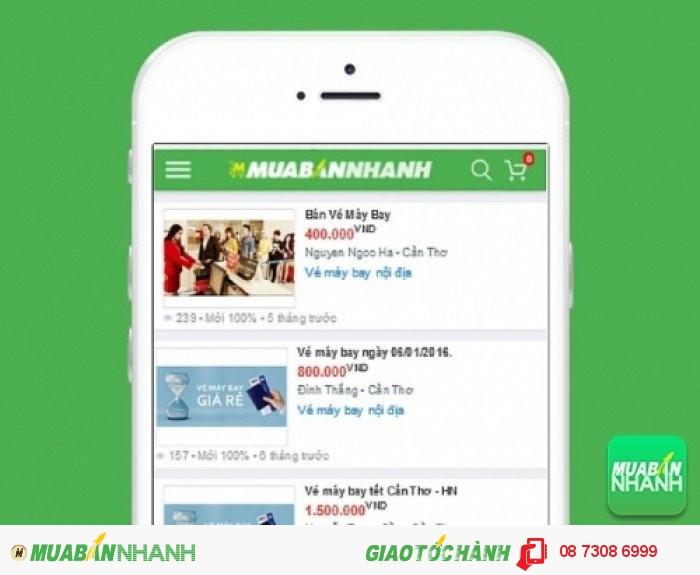 Giá vé máy bay đi Cần Thơ trên Mạng xã hội MuaBanNhanh