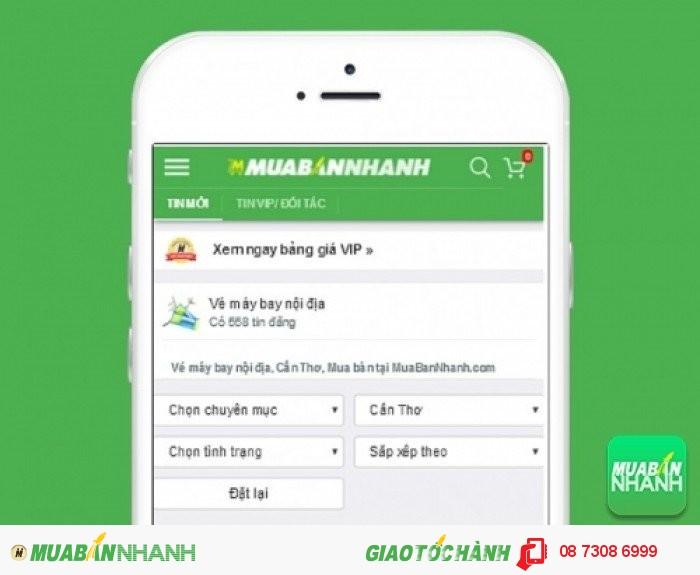 Tìm mua vé máy bay đi Cần Thơ uy tín trên Mạng xã hội MuaBanNhanh
