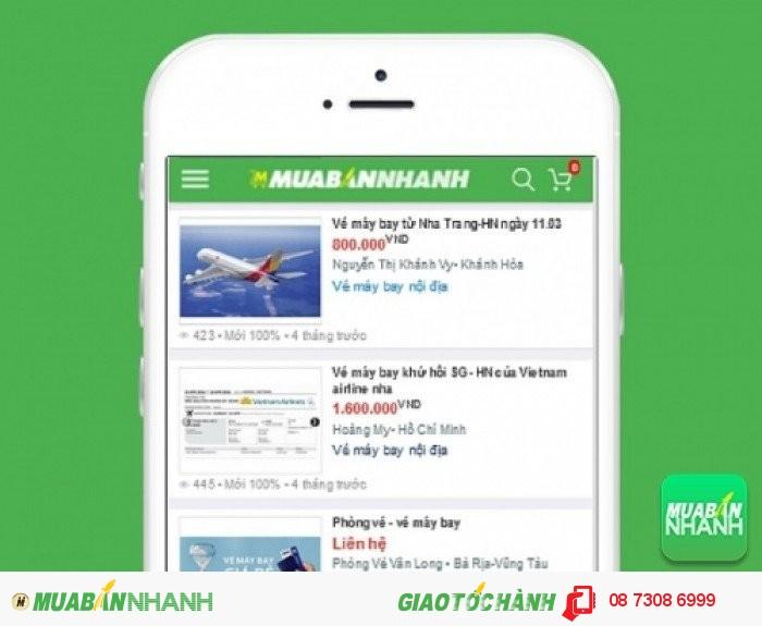 Giá vé máy bay đi Cà Mau trên Mạng xã hội MuaBanNhanh