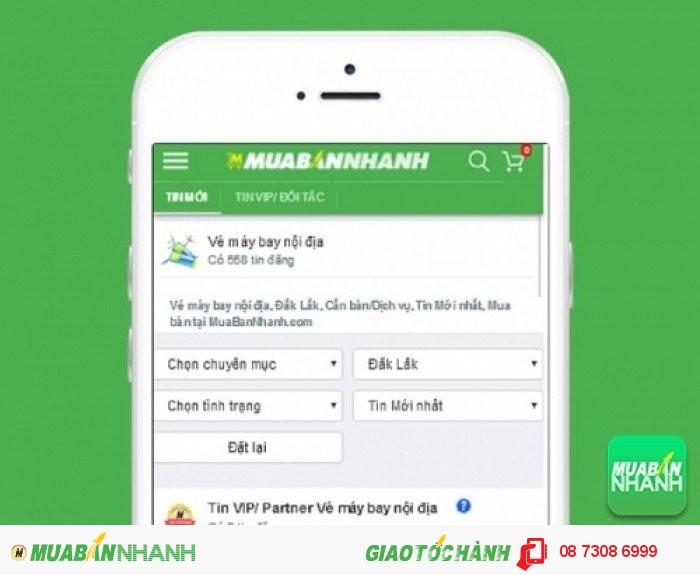 Tìm mua vé máy bay đi Buôn Ma Thuột uy tín trên Mạng xã hội MuaBanNhanh