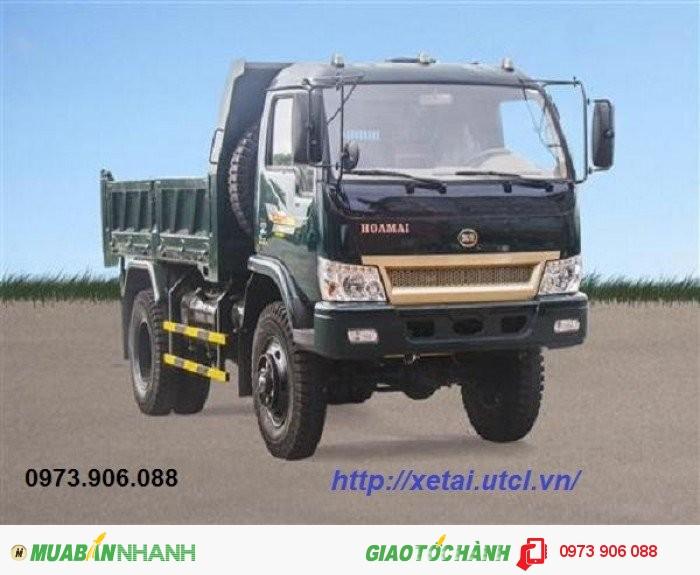 Bán Xe tải ben Hoa mai 4.65 tấn 2 cầu