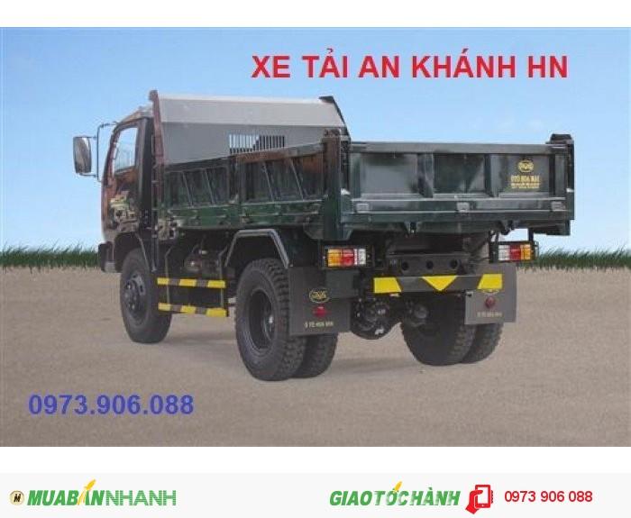 Bán Xe tải ben Hoa mai 4.65 tấn 2 cầu 3