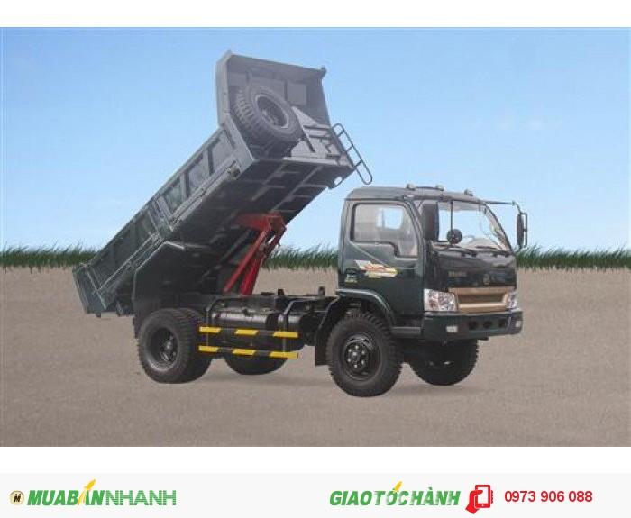 Bán Xe tải ben Hoa mai 4.65 tấn 2 cầu 2