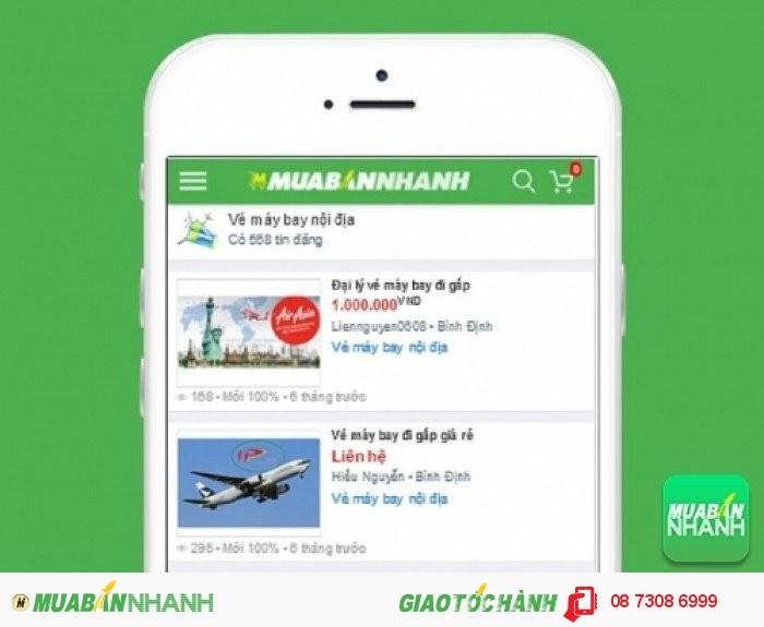 Giá vé máy bay đi Quy Nhơn trên Mạng xã hội MuaBanNhanh