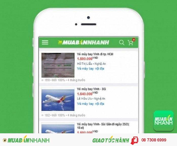 Giá vé máy bay đi VInh trên Mạng xã hội MuaBanNhanh