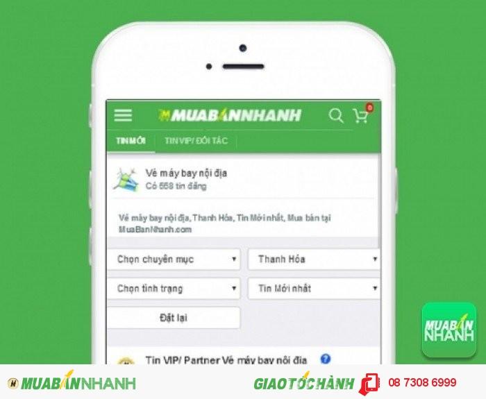 Tìm mua vé máy bay đi Thanh Hoá uy tín trên Mạng xã hội MuaBanNhanh