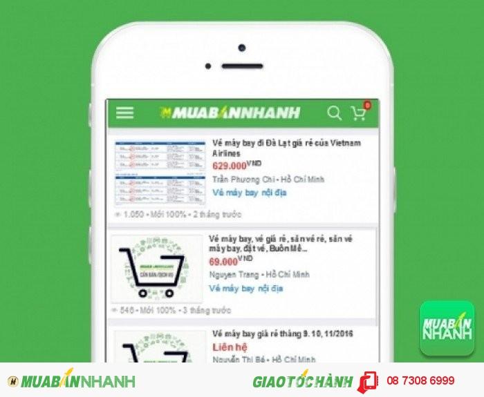 Giá vé máy bay đi Đà Lạt trên Mạng xã hội MuaBanNhanh
