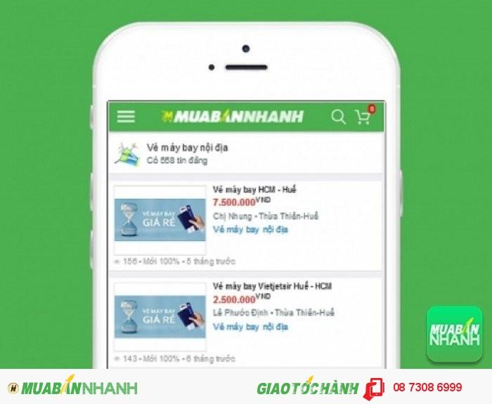 Giá vé máy bay đi Huế trên Mạng xã hội MuaBanNhanh