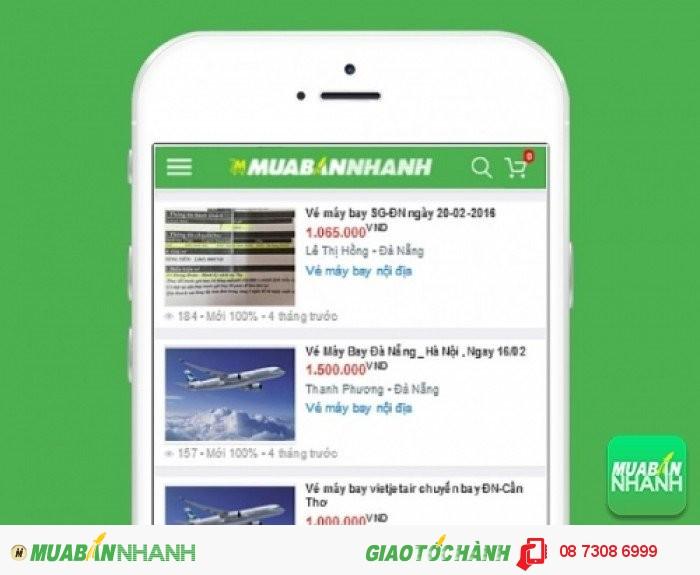 Giá vé máy bay đi Đà Nẵng trên Mạng xã hội MuaBanNhanh
