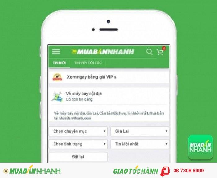 Tìm mua vé máy bay đi Pleiku uy tín trên Mạng xã hội MuaBanNhanh