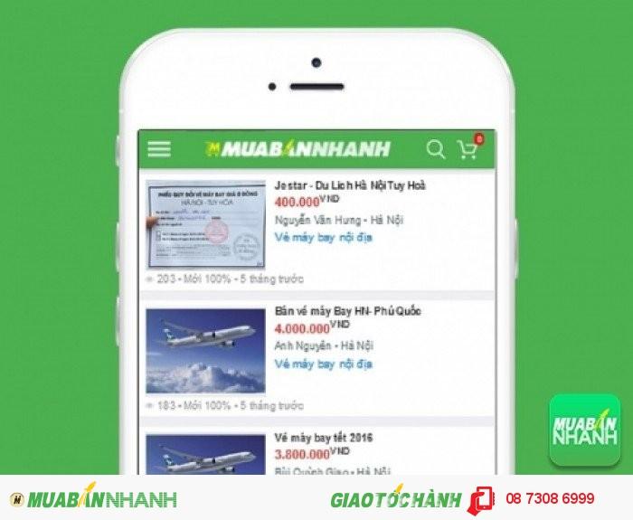 Giá vé máy bay đi Hà Nội trên Mạng xã hội MuaBanNhanh