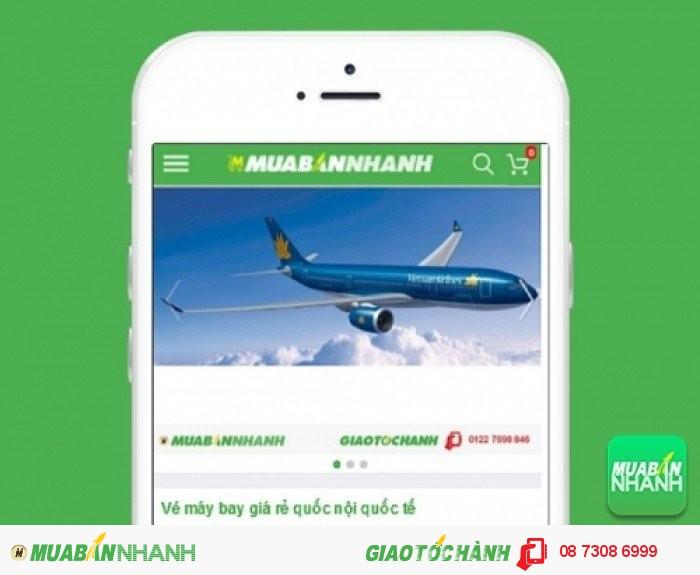 Đặt mua Vé máy bay đi Mỹ trên mạng xã hội MuaBanNhanh
