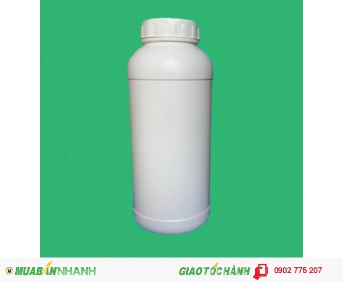 Chai nhựa 1 lít, chai nhựa đựng hóa chất, chai nhựa ngành nông dược 1 lít0