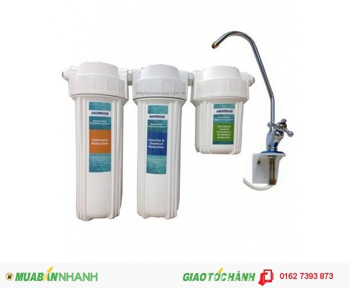 Hệ thống lọc nước nano không dùng điện, không tạo ra chất thải.