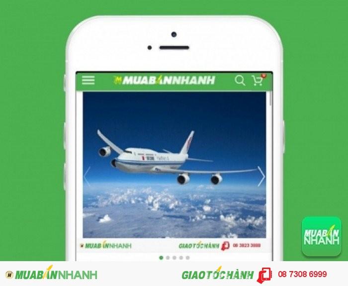 Đặt mua Vé máy bay Lion Air trên mạng xã hội MuaBanNhanh