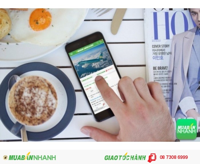 Đặt mua Vé máy bay Cathay Pacific trên mạng xã hội MuaBanNhanh