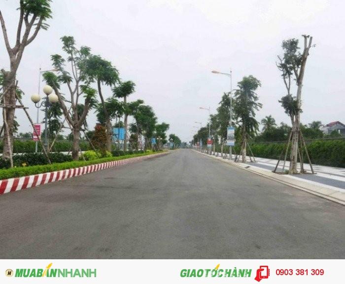 Cần bán lô đất 130m2 thổ cư SHR, đường nhựa 16m, đối diện KCN Tân Đô