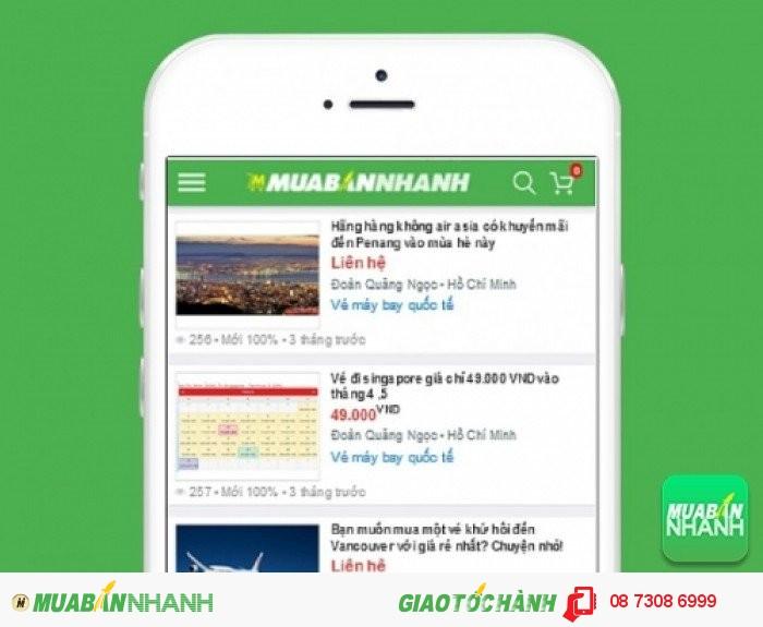 Giá Vé máy bay Vietnam Airlines trên mạng xã hội MuaBanNhanh