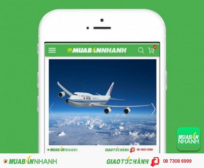 Đặt mua Vé máy bay Malaysia Airlines trên mạng xã hội MuaBanNhanh
